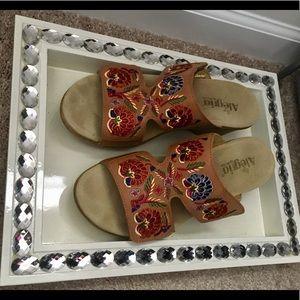 Alegria natural leather sandals